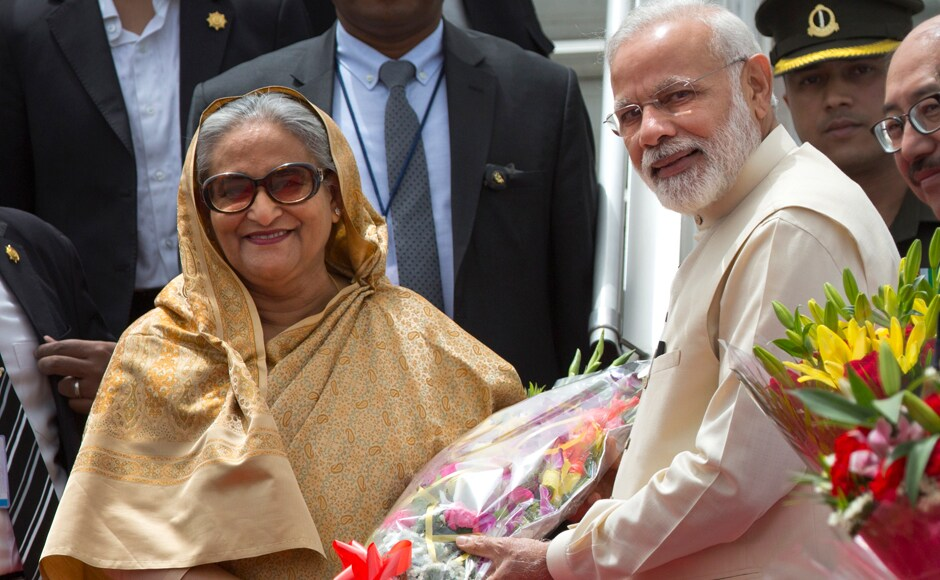 During Hasina's visit, which is her first after Modi assumed office in 2014, the two sides will be signing at least 25 pacts in various key sectors including civil nuclear cooperation and defence but any agreement on the Teesta water sharing is unlikely to be inked. AP