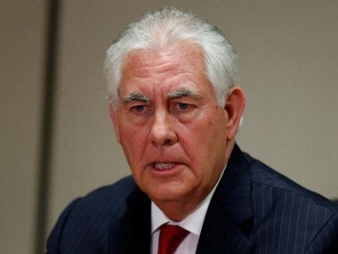 File image of US secretary of state Rex Tillerson. Reuters