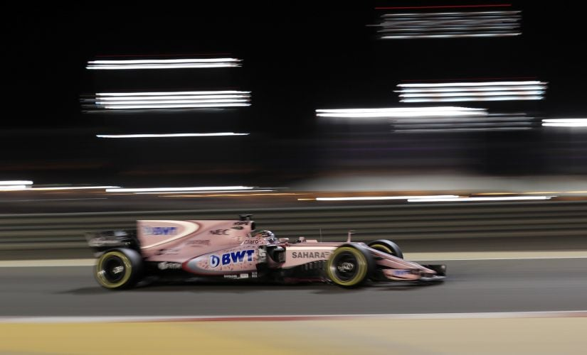 Force India driver Sergio Perez had an unbelievable drive from P18 to P7. AP