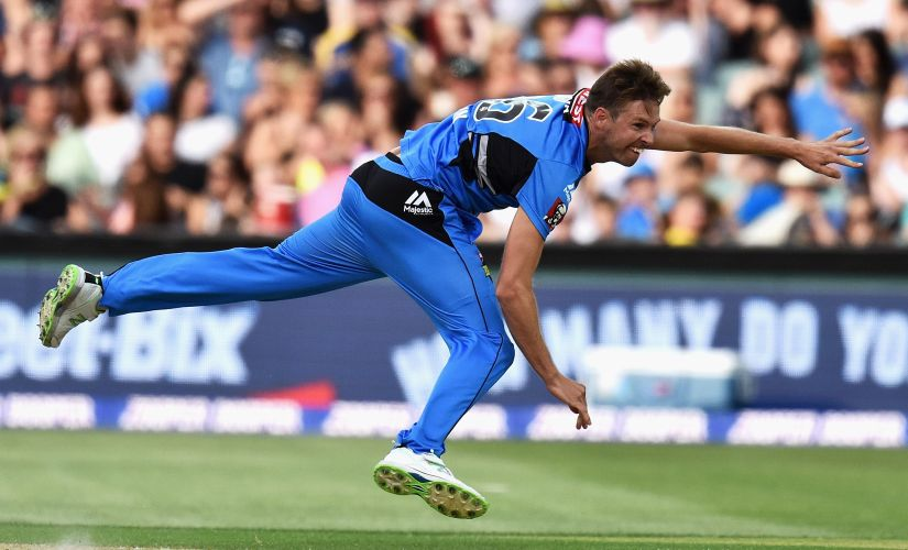 Ben Laughlin has earned a name for himself as specialist death bowler. GettyImages