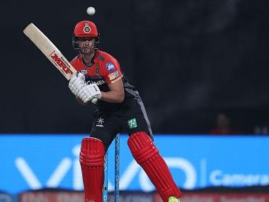 RCB's AB de Villiers during the game against KKR- Sportzpics - IPL