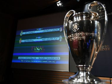 The Champions League draw took place in Nyon, Switzerland. AFP