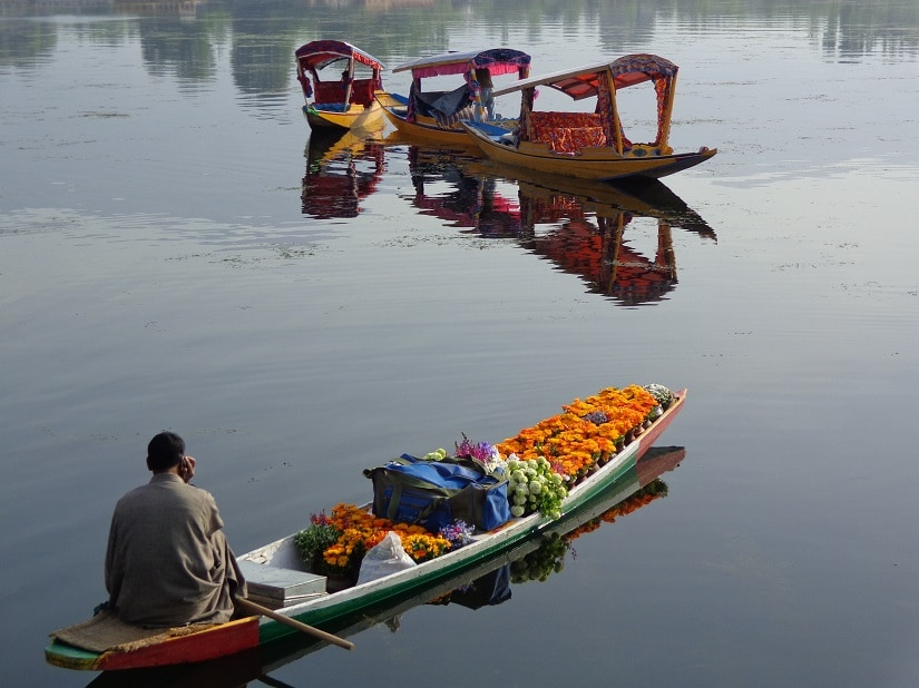 Floating bazaars. All photos courtesy the writer