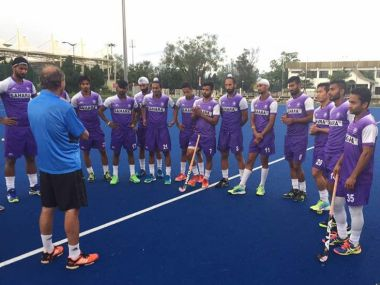 India's training session in Malaysia ahead of the 26th Sultan Azlan Shah Cup. Iamge courtesy: Twitter/@TheHockeyIndia