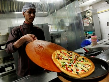 The bill charged by a restaurant is drawn up keeping labour and real estate charges in mind. Reuters file image
