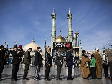 File photo of Iran elections. AFP