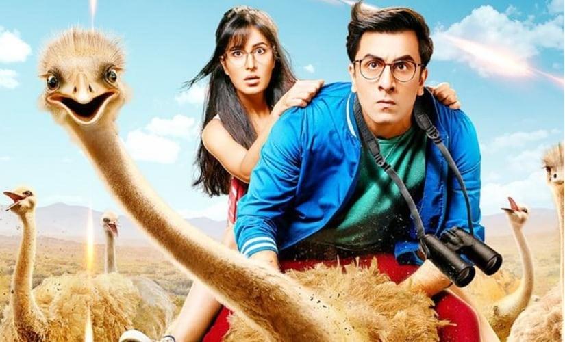 Ranbir Kapoor and Katrina Kaif in Jagga Jasoos. Image from Firstpost