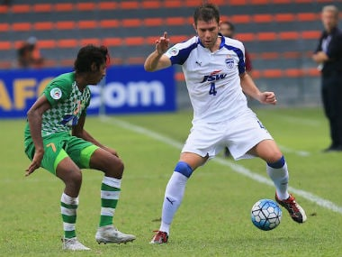 John Johnson scores late to had all three points to Bengaluru FC. Twitter: @Afcasiancup