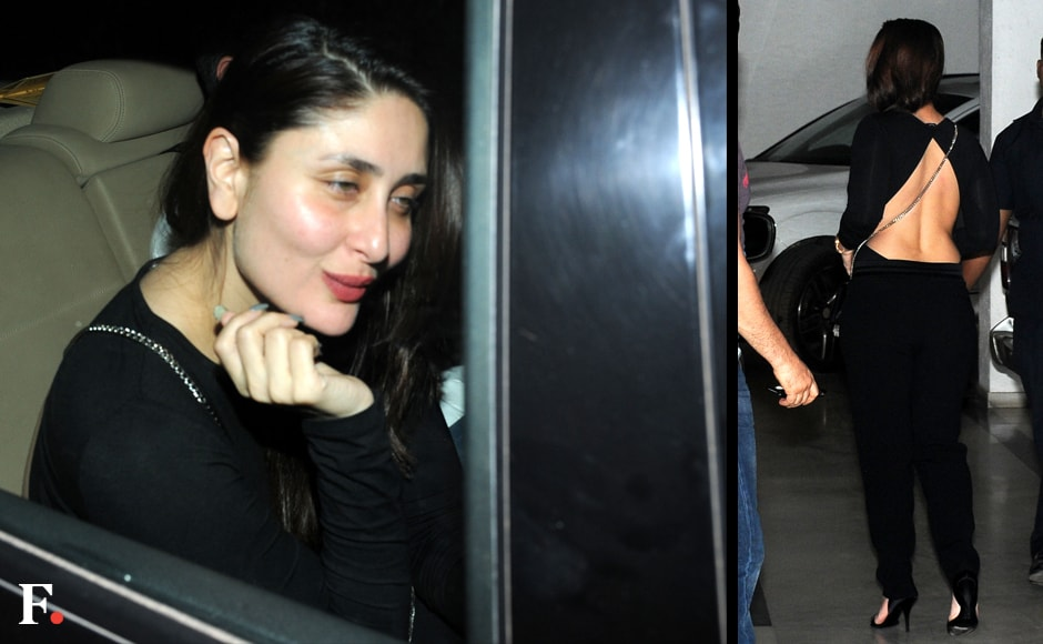 Kareena Kapoor at the bash. Sachin Gokhale/Firstpost