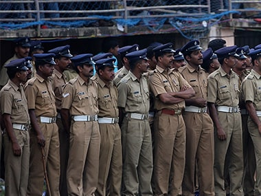Representational image of Kerala police. Getty Images