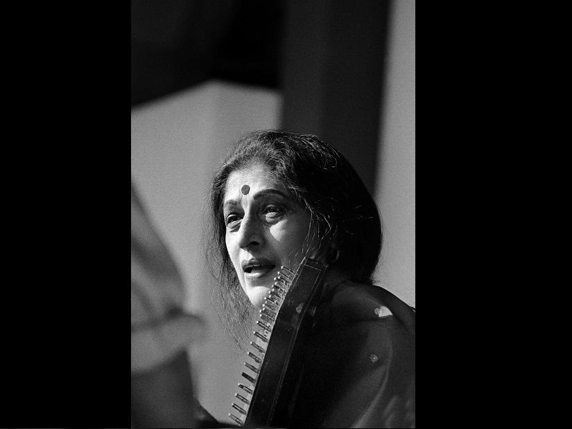 Kishori Amonkar. Image courtesy Shobha Deepak Singh/Shriram Bharatiya Kala Kendra