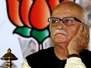 LK Advani. Reuters