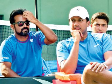 File photo of Leander Paes and Mahesh Bhupathi. PTI