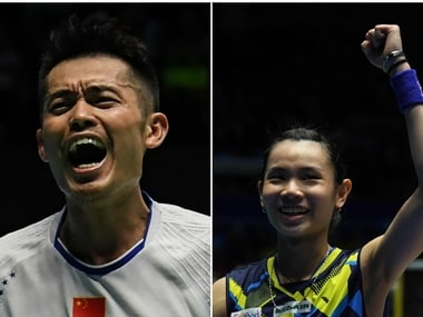 Lin Dan (L) and Tai Tzu Ying emerged triumphant at Malaysia Superseries Premier. AFP