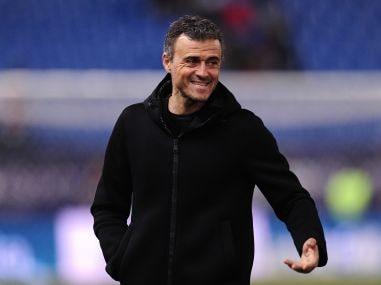 Head coach of Barcelona, Luis Enrique. Getty