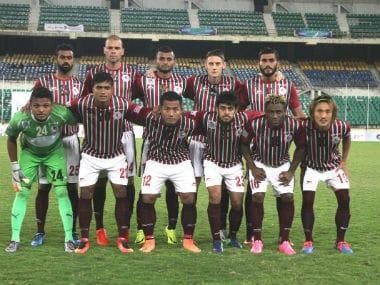 File photo of Team Mohun Bagan. Image courtesy: Twitter/@Mohun_BaganAC