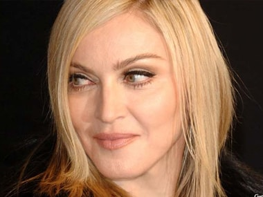 Madonna is unhappy with the planned biopic. File photo