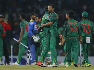 File picture of Bangladesh team. Getty