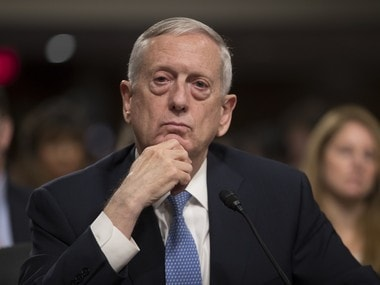 Defense Secretary James Mattis. AP