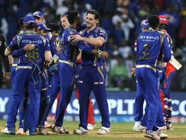 Mumbai Indians recorded their sixth win in a row in IPL 2017 against GL. IPL/SportzPics