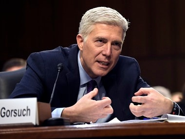 File photo of Neil Gorsuch. AP