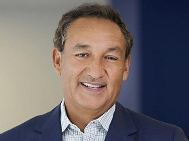 Oscar Munoz, chief executive, United Airlines