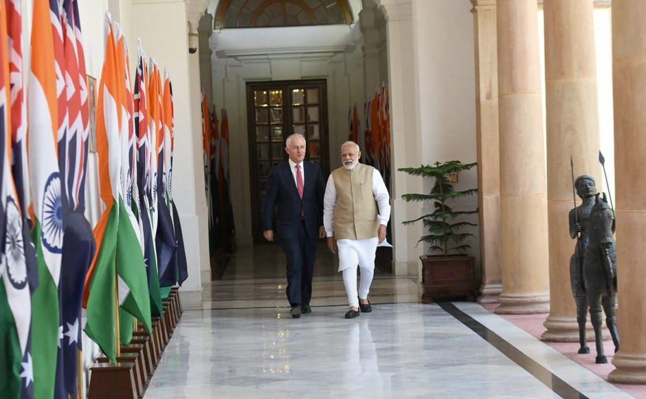 During their talks, the two leaders decided to significantly expand their ties in several key areas including defence, trade, energy and education. PTI