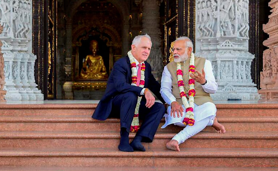 India and Australia on Wednesday also announced a partnership aimed at increasing cooperation in sports, in the presence of visiting Prime Minister Malcolm Turnbull and batting great Sachin Tendulkar. PTI