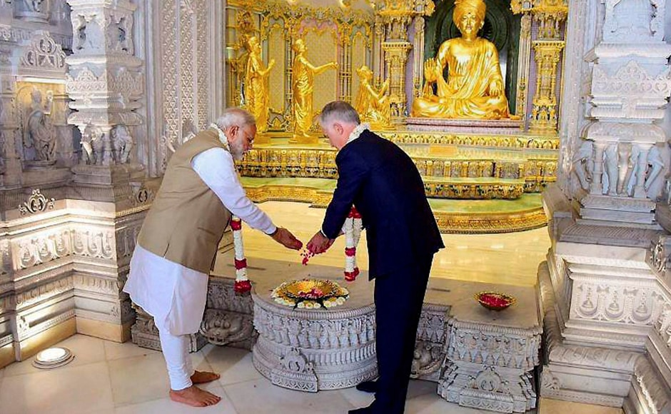 Prime Minister Turnbull also travelled to Mumbai for engagements with Indian business leaders and a meeting with the Governor of Maharashtra. PTI