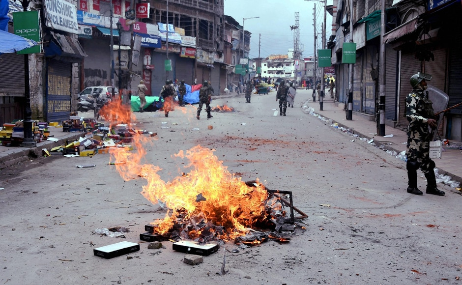 Meanwhile, the streets bore a deserted look, sparking apprehensions that the ongoing student protest may spiral out of control and a situation like last year's summer may arise. The summer of 2016 was marred by the violent protests across the Valley, in the aftermath of Hizbul Mujahideen commander Burhan Wani's death. PTI