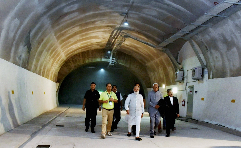 The tunnel, bypassing snow-bound upper reaches, will reduce the journey time by two hours and provide a safe, all-weather route to commuters travelling from Jammu and Udhampur to Ramban, Banihal and Srinagar. The estimated value of daily fuel savings will be to the tune of Rs 27 lakh, according to the PMO. PTI