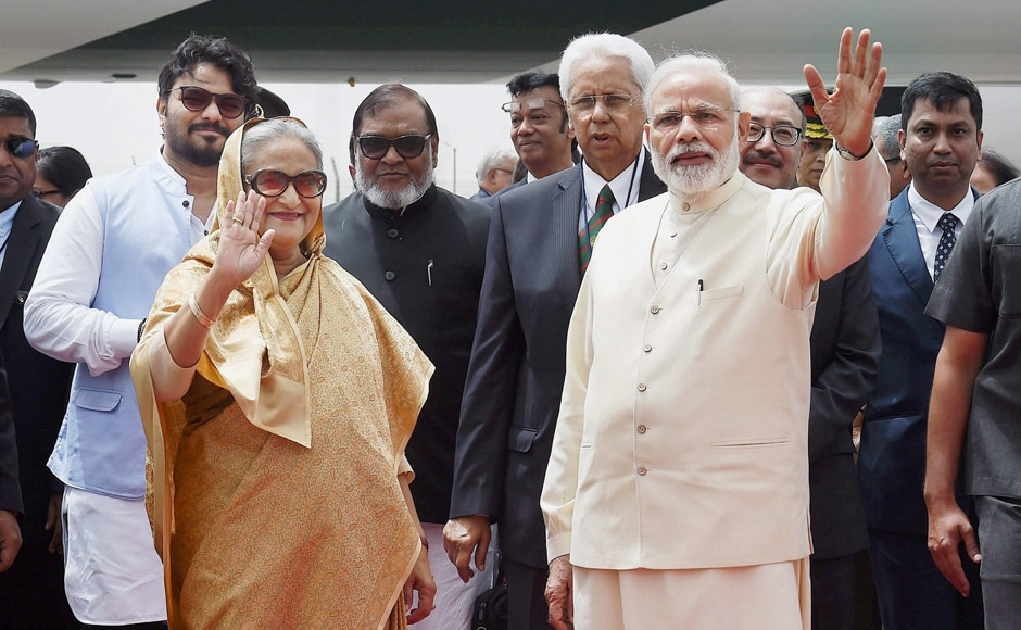Issues, like combating terrorism containing radicalism and enhancing security cooperation between the two countries, are likely to figure prominently, besides stalemate over the Teesta pact during talks between Modi and Hasina. PTI