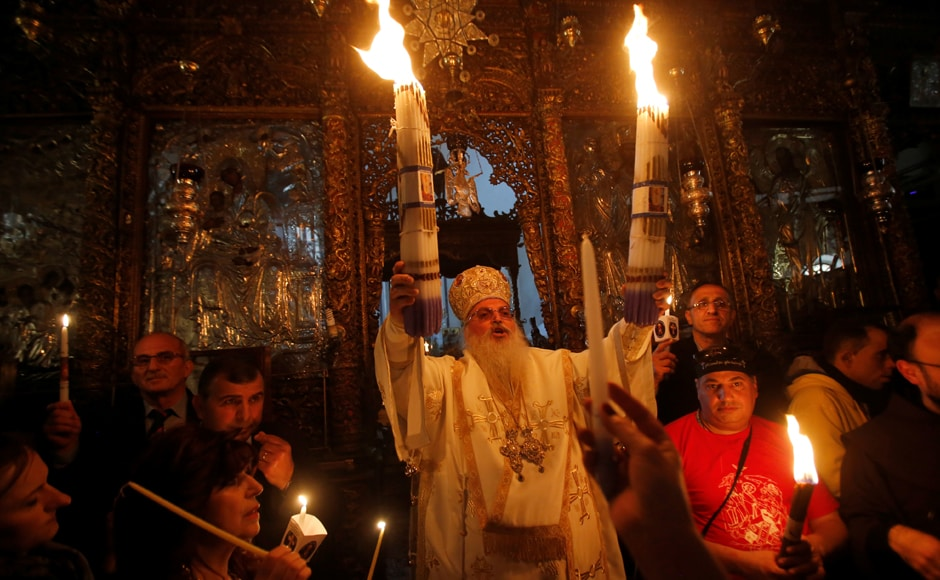 Christians across India too observed Easter with pomp and gusto.  Reuters