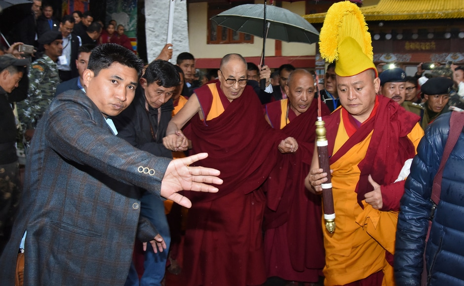 The Dalai Lama's visit to Tawang in Arunachal Pradesh has been put off by two days due to bad weather, according to media reports. Reuters