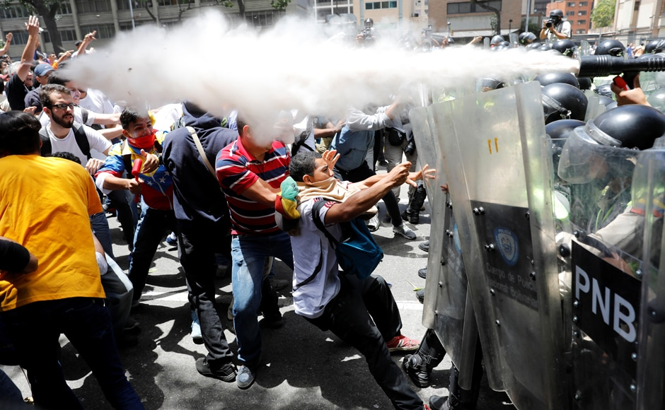 Tensions have soared in the oil-producing country's long-running political standoff after the pro-Maduro Supreme Court last week annulled the opposition-led congress' functions. Reuters
