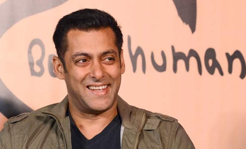 Salman Khan. Image from IBN Live