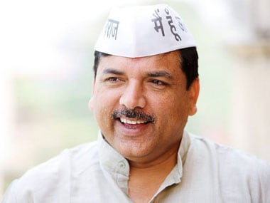 AAP MLA's disqualification row: Election Commission acting as BJP's agent, says Sanjay Singh
