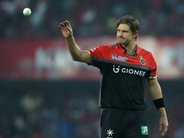 Royal Challengers Bangalore's Shane Watson blamed himself for his side's defeat. SportzPics