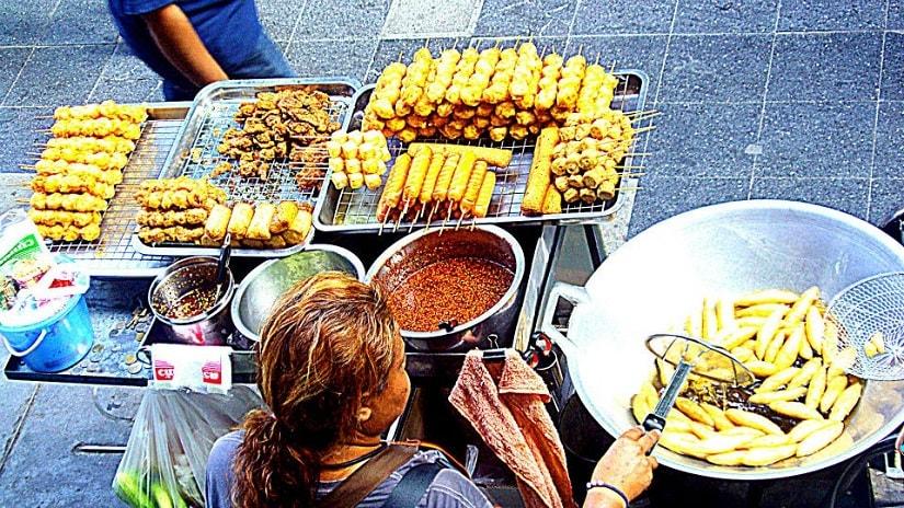 Street food at Siam Square