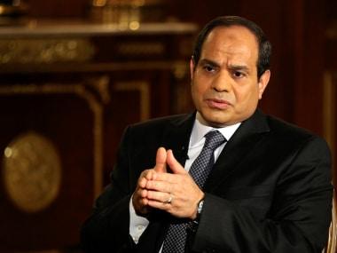 File image of Abdel Fattah al-Sisi. AFP