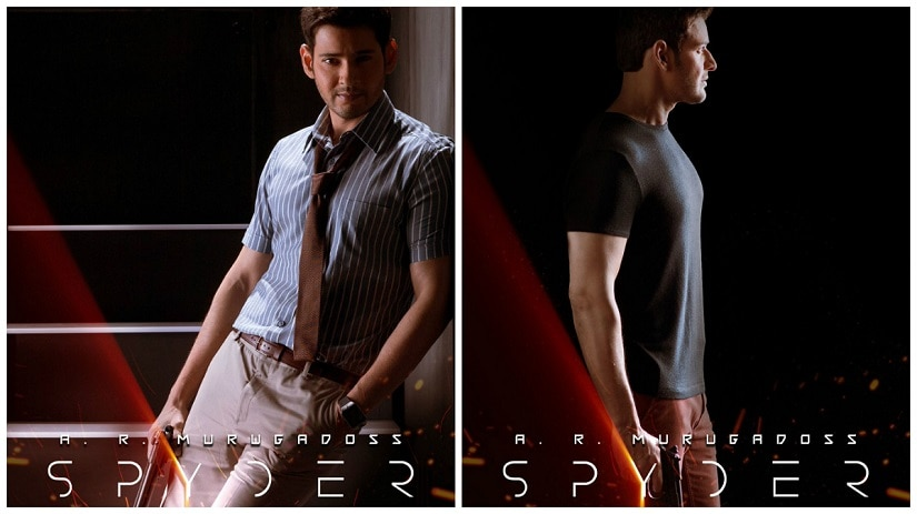 Mahesh Babu on Spyder. Image courtesy Twitter