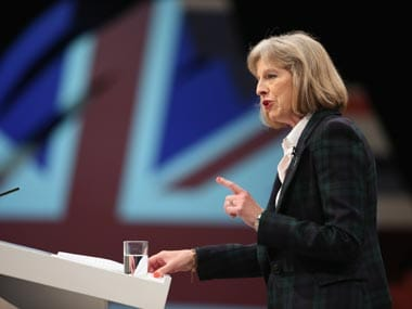 Theresa May. Getty Images