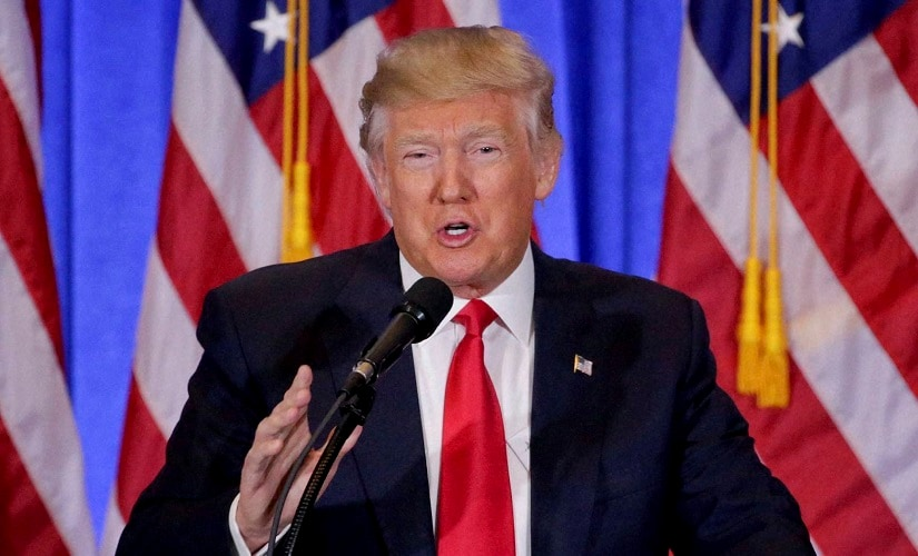 A file image of US President Donald Trump. AP