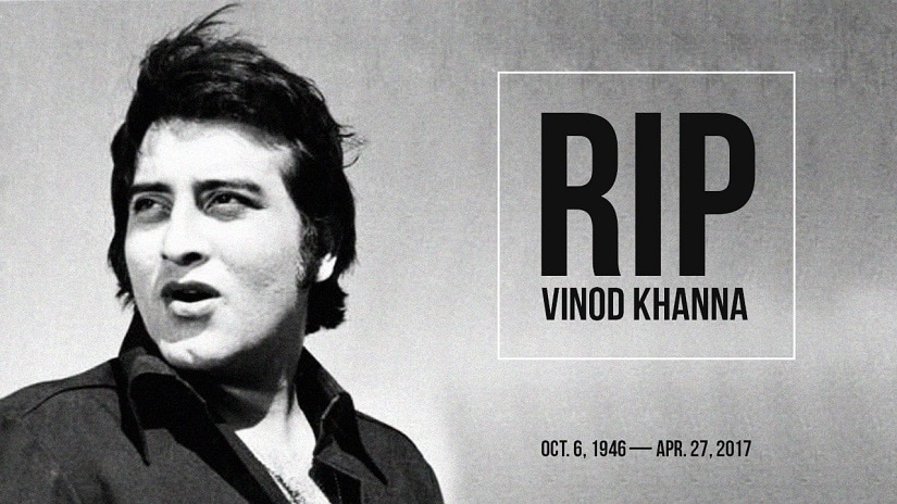 Vinod Khanna passed away aged 70, after a protracted battle with cancer