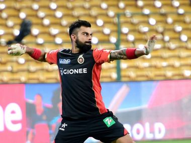 Virat Kohli is fit for RCB's game against MI. PTI
