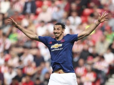 Zlatan Ibrahimovic has been in fine form this season for Manchester United. AFP