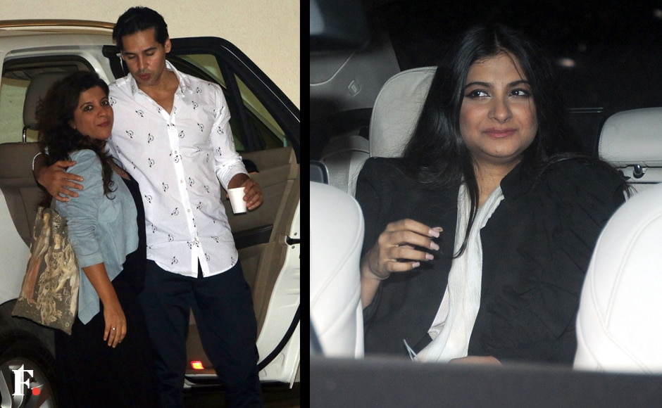 Zoya Akhtar and Dino Morea; Rhea Kapoor. Sachin Gokhale/Firstpost