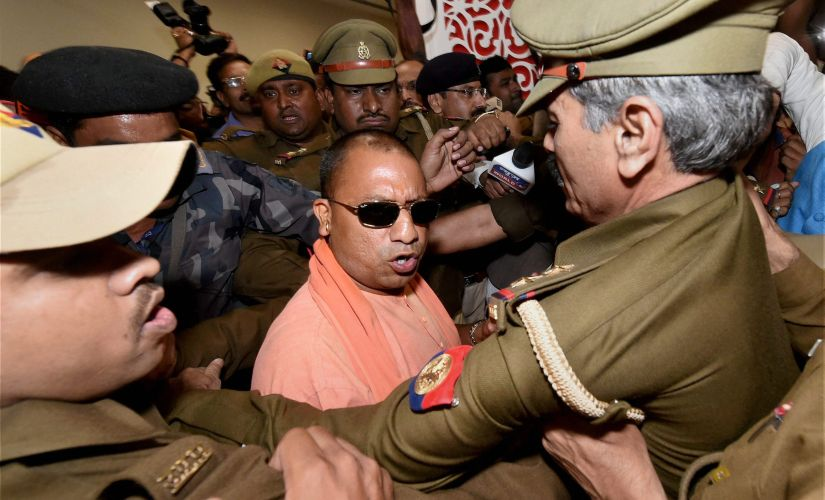 Sangh Parivar might just chose Yogi Adityanath as the new posterboy for the Ayodhya Ram Temple movement. PTI