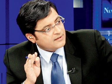 File photo of Arnab Goswami. CNN-News18