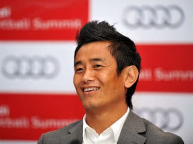 File photo of Bhaichung Bhutia. AFP